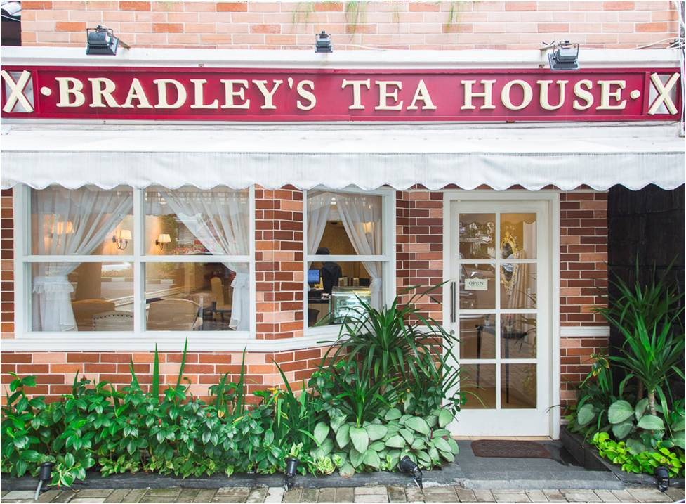 British Tea Time at Bradley's Tea House