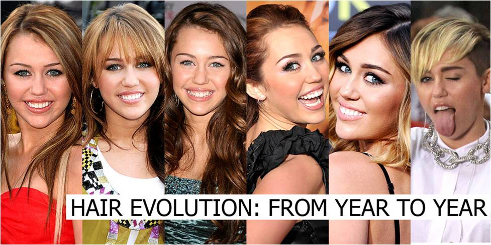 Evolusi Fashion Milley Cyrus