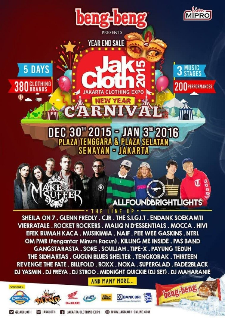 Jakarta Clothing Expo New Year Carnaval